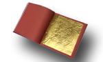 Heft mit Blattgold 23 Karat Gelbgold